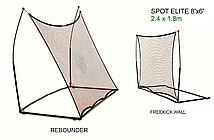 Тренировочная сетка-стенка (2 в 1) QUICKPLAY SPOT Elite REBOUNDER 8x6