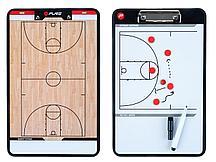 Доска тренерская баскетбольная PURE2IMPROVE COACHBOARD BASKETBALL