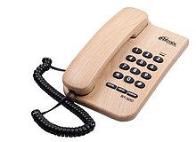 Ritmix RT-320 Телефон стационарный проводной светлое дерево