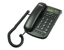 Ritmix RT-440 Телефон стационарный проводной черный