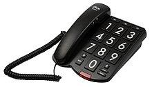 Ritmix RT-520 Телефон стационарный проводной черный