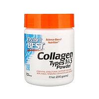Коллаген Doctor's Best - Collagen Types 1&3 Powder, 200 г