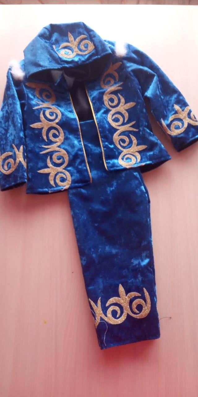 Детский казахский костюм