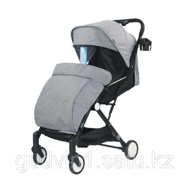 Прогулочная коляска Mary серый 00-92226