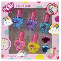 Детская косметика лак для ногтей POP