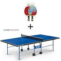 Теннисный стол START LINE GAME INDOOR с сеткой с комплектов, фото 1