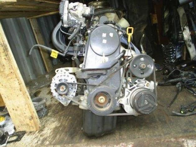 Двигатель Chevrolet Aveo. B12S1. , 1.2л., 72л.с.