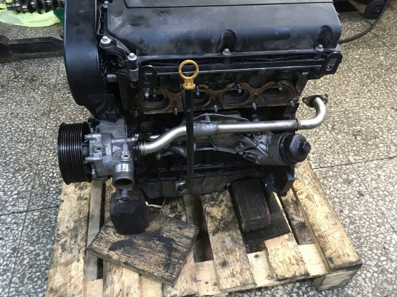 Двигатель Chevrolet Aveo. F16D4. , 1.6л., 113л.с.