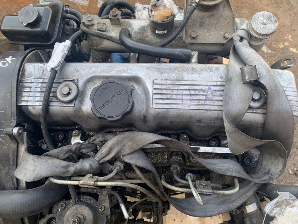 Двигатель Hyundai Grace. D4BA. , 2.5л., 80л.с.