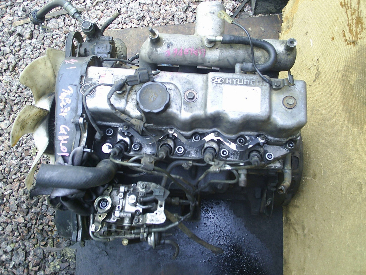 Двигатель Hyundai Grace. D4BB. , 2.5л., 80л.с.