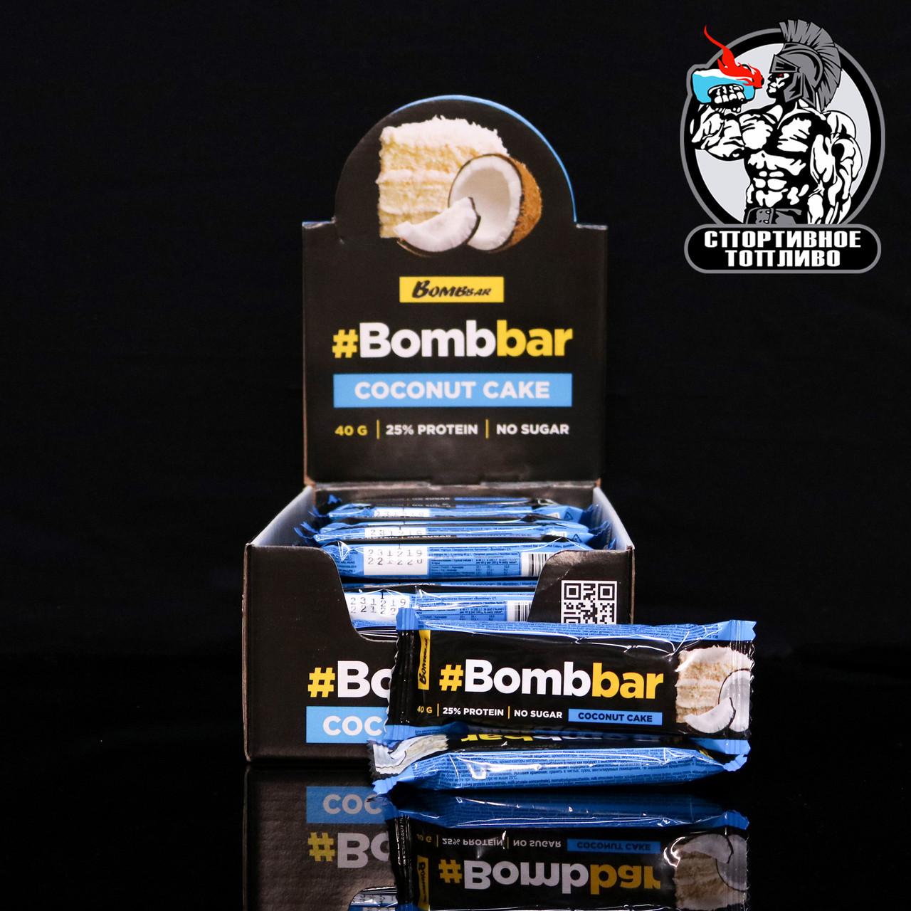 BombBar - батончик в шоколаде 1шт/40гр