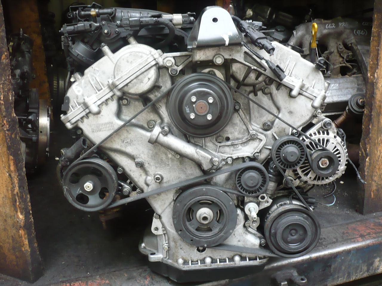 Двигатель Kia Quoris. G6DA. , 3.8л., 242л.с.