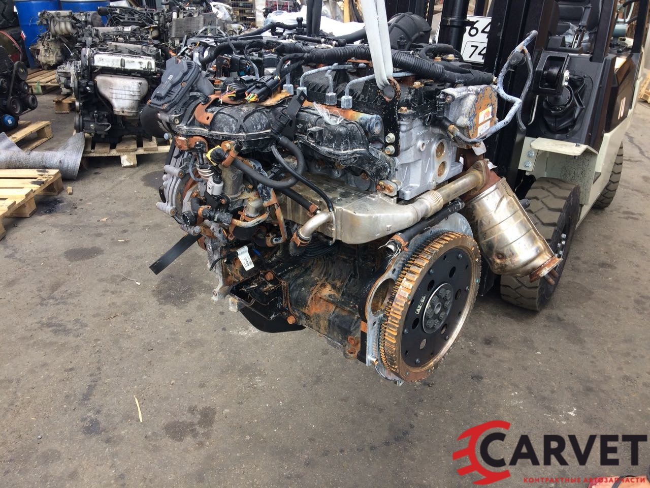 Двигатель Kia Sorento. D4CB. , 2.5л., 170л.с.