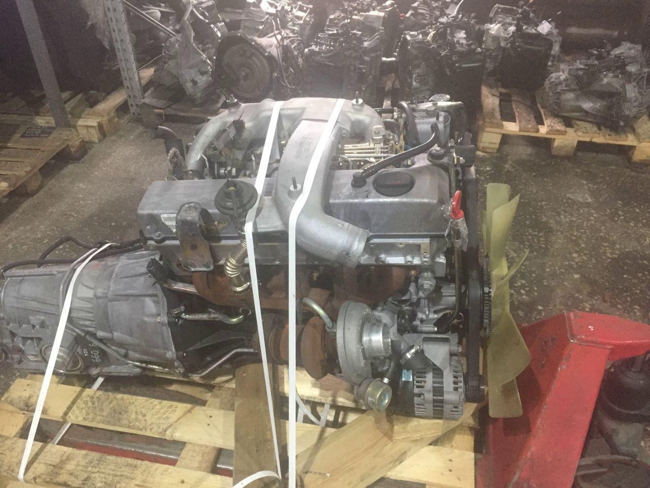 Двигатель Ssangyong Rexton. 662935 (D29M) . , 2.9л., 126л.с.