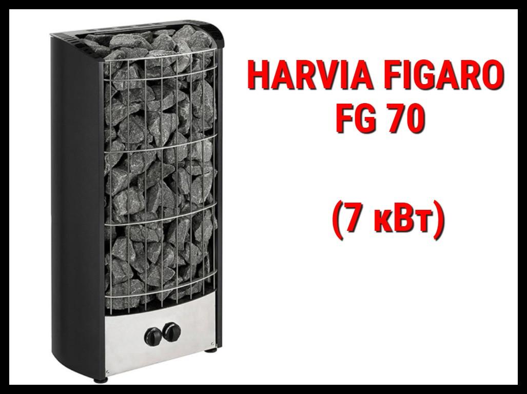 Электрическая печь Harvia Figaro FG 70 со встроенным пультом
