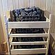 Электрическая печь Harvia Figaro FG 70 со встроенным пультом, фото 4