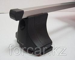 Багажник Atlant для гладкой крыши с креплением в штатные места, прямоугольные дуги, тип опоры С