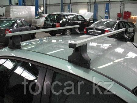 Багажник Atlant для гладкой крыши с креплением в штатные места, прямоугольные дуги, тип опоры С, фото 2