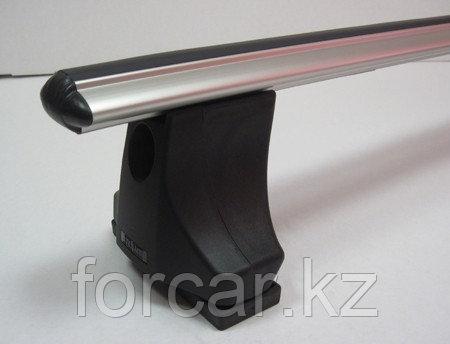 Багажник Atlant для гладкой крыши с креплением в штатные места, аэродинамические  дуги, опора С, фото 2