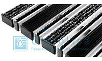 Арт. 30123 Придверная решетка Gidrolica Step - резина+текстиль+щетка 390х590мм