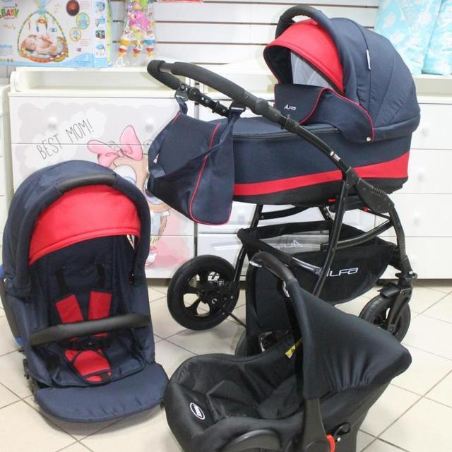 Детская коляска RIKO ALFA Ecco BASIC