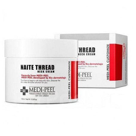 Омолаживающий крем для шеи Medi-Peel Naite Thread Neck Cream (100мл), фото 2