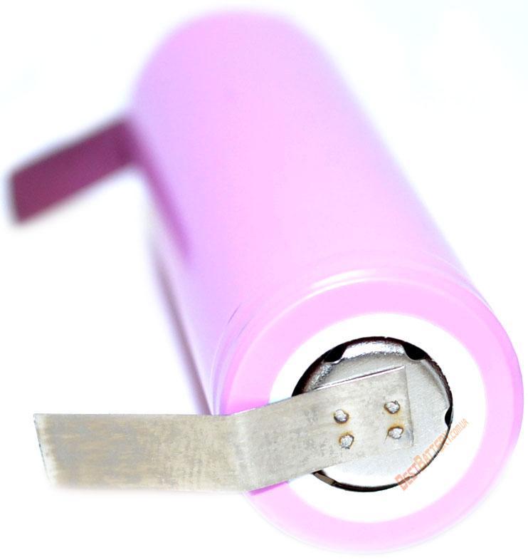 Никелевые полоски для сварки аккумуляторов. Толщина - 0,1 мм, ширина - 5 мм,длинна - 25 мм