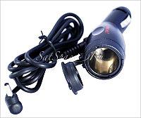 Зарядка для радар-детекторов с дополнительным гнездом прикуривателя