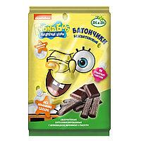 """Батончики амарантовые """"Губка Боб"""" с шоколадной начинкой в глазури безглютеновые 110 гр."""