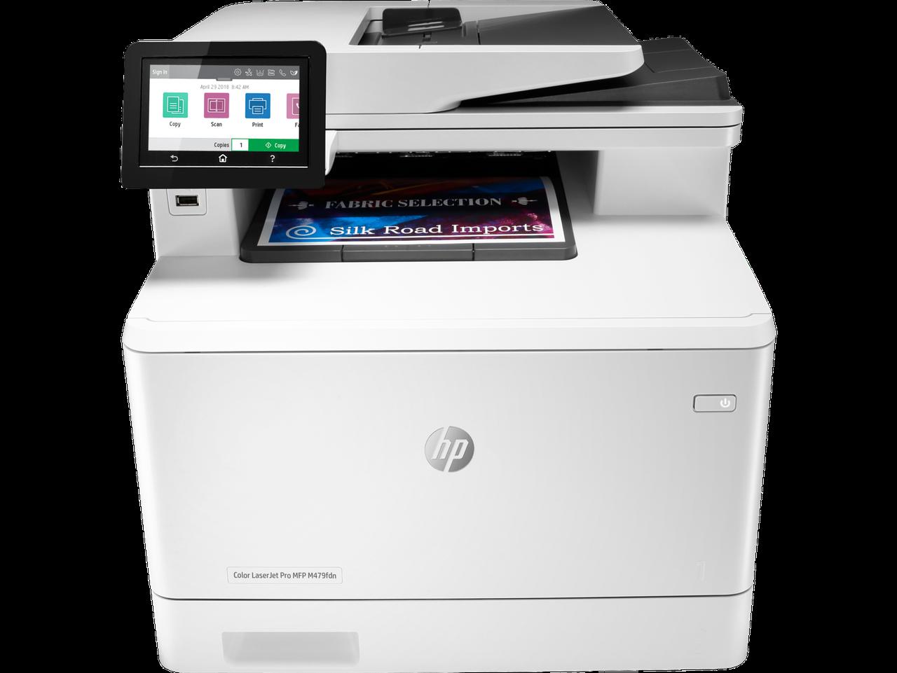 HP W1A79A МФУ лазерное цветное Color LaserJet Pro MFP M479fdn (A4)