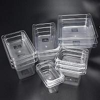 Гастроемкости пластиковые прозрачные, фото 1