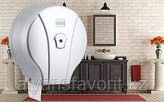 Диспенсер для туалетной бумаги Jumbo (Джамбо) металлик.Vialli