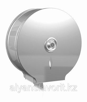 Диспенсер для туалетной бумаги Jumbo (Джамбо) металлический.Daycometal, фото 2