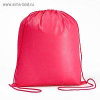 Мешок для обуви Стандарт, 420 х 340 (+/- 1 см), Calligrata, малиновый
