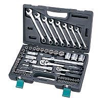 H5-402068H Набор инструмента в пластиковом чемодане, 68 предметов