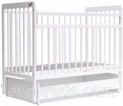 Кровать детская Bambini Евро стиль M 01.10.05 Белый