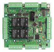 4-х дверный модуль расширения контроллера сетевой системы доступа Smartec ST-NB441D