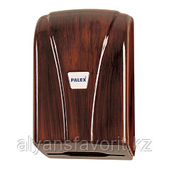 Диспенсер для листовой туалетной бумаги Z укладки (под дерево) .Palex