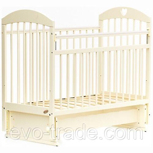 Кровать детская Bambini Комфорт M 01.10.20 Слоновая кость