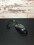 Мышь проводная Lan M-20 глянцевая, фото 3