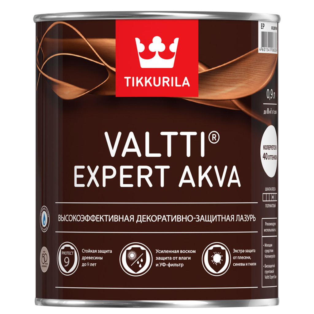 Антисептик VALTTI EXPERT AKVA палисандр, 0,9л