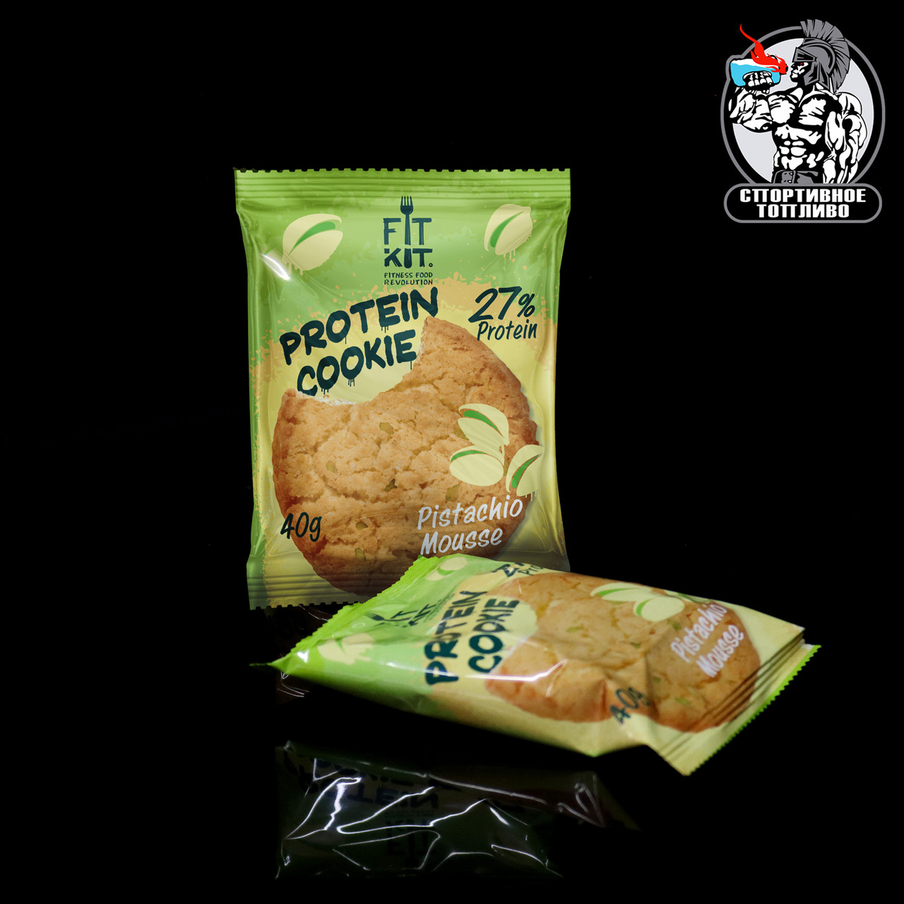 FitKit - Protein cookie 1шт/40гр