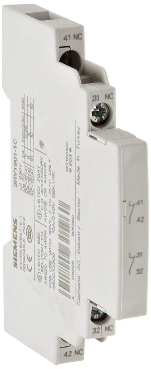 Дополнительный контакт для автомата S00 3RV1901-1C Siemens