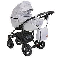 Коляска детская Pituso Confort 2 в 1 Серый+Кожа Серая, фото 1