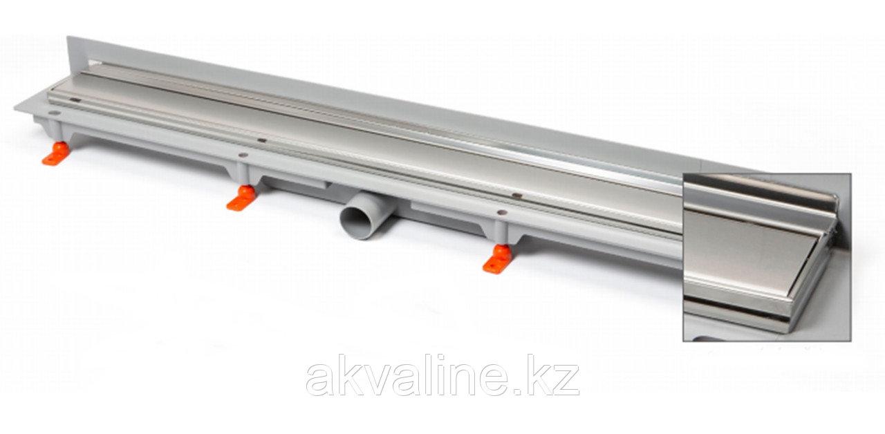 Водоотводящий жёлоб 350mm, под плитку - матовый