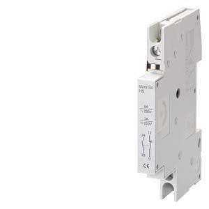 Дополнительный контакт для автомата 5SX 5SX9102 Siemens, фото 2