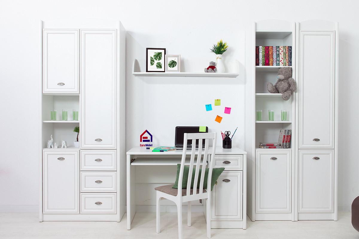 Комплект мебели для детской Салерно, Белый Белый, БРВ Брест(Беларусь)