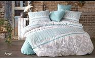Двуспальный комплект постельного белья Lavilla, Люксовый Поплин, фото 4