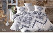 Двуспальный комплект постельного белья Lavilla, Люксовый Поплин, фото 6
