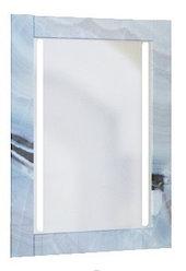 Зеркало Glass (Голубой мрамор) с подсветкой.